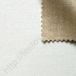 Alapozott finom len feszített festővászon - 90x90 cm