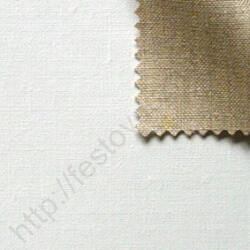 Alapozott finom len feszített festővászon - 140x170 cm