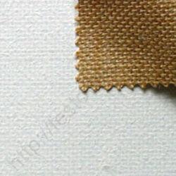 Alapozott 100% juta feszített festővászon - 130x130 cm