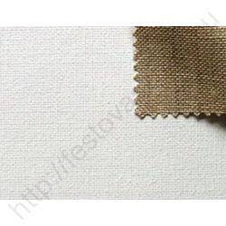 Alapozott prémium len feszített festővászon - 100x130 cm