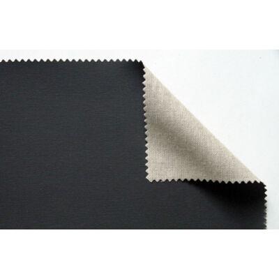 Feketére alapozott prémium kevert feszített festővászon - 50x50 cm