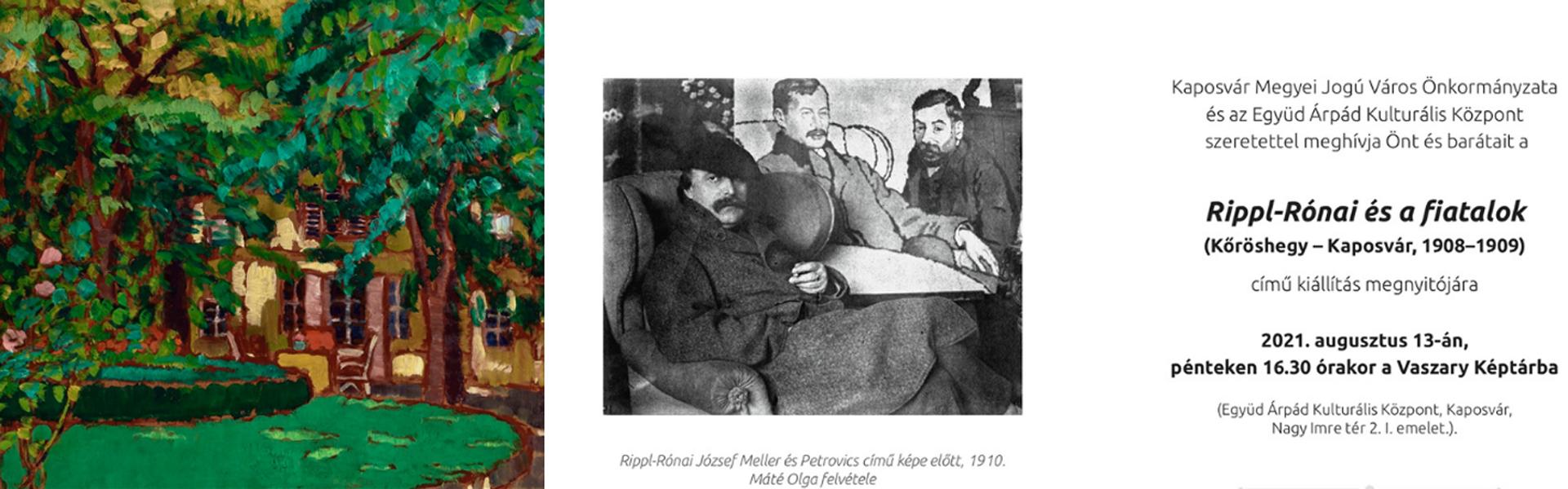 Rippl-Rónai és a fiatalok kiállítás